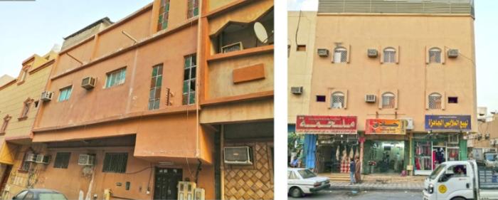 عمارتين سكنية حي منفوحة